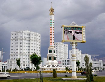Ашхабад – город из белого мрамора. Фото с сайта loveopium.ru
