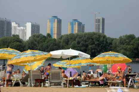 Одной из самых «отдыхающих» наций в мире оказались россияне. Фото: ANDREY SMIRNOV/AFP/Getty Image