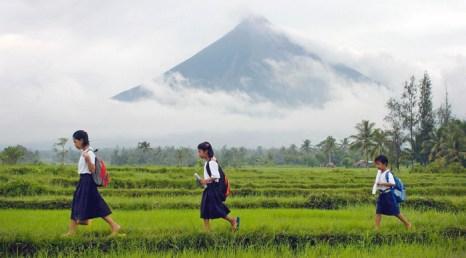 Самый низкий уровень аллергии у сельских школьников. Фото: AFP/Getty Images