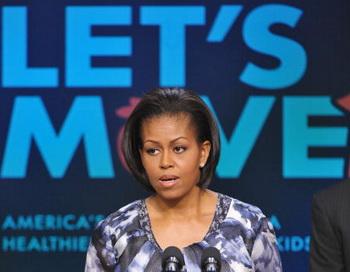 Мишель Обама выступила и предложила свой план действий против детского ожирения, названный