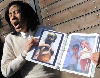 Для  оказания гуманитарной помощи Северной Корее, где большая часть населения голодает, у ООН не хватает средств. Фото: JUNG YEON-JE/AFP/Getty Images