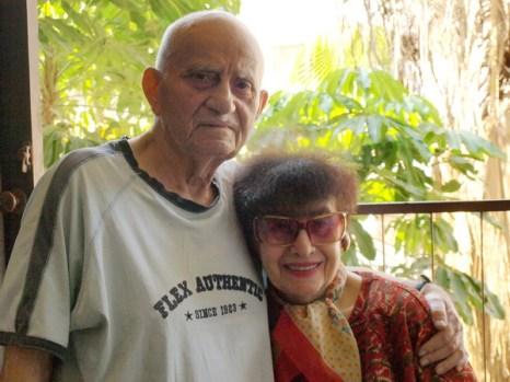 Татьяна Очеретян и Ефим Левит, 60 лет вместе. Фото:Хава ТОР/Великая Эпоха