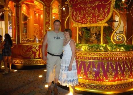 Атаман с супругой в туристической поездке. Фото предоставлено Мариной Жуйковой