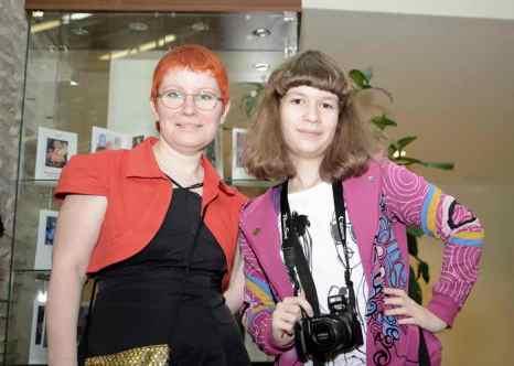 Елена Варшавчик (слева). Фото предоставлено Еленой Варшавчик