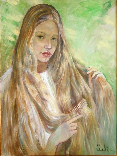 Картины художника. Энергия доброты