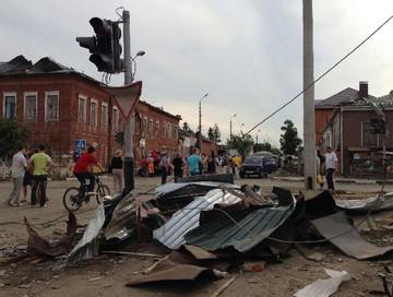 Последствия смерча в Ефремово. Фото с сайта dp.ru