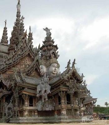 Храм Истины в Паттайе. Фото с сайта asia-siam.ru