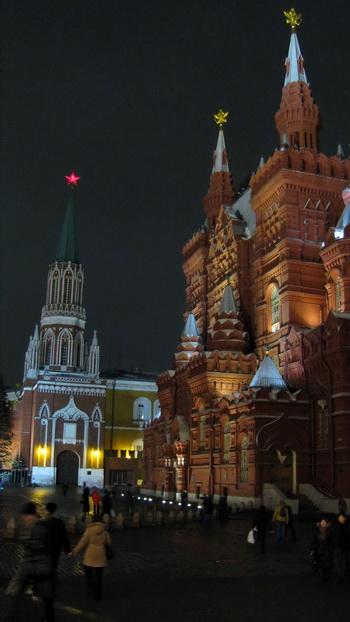 Вечерняя Москва. Фото Николая Зуева