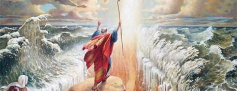 Моисей, заставил воды моря расступиться. Фоторепортаж. Фото с сайта salat.zahav.ru