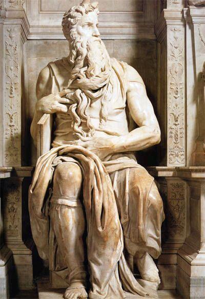 Моисей. Скульптура Микельанжело. Фоторепортаж. Фото с сайта managee.ru