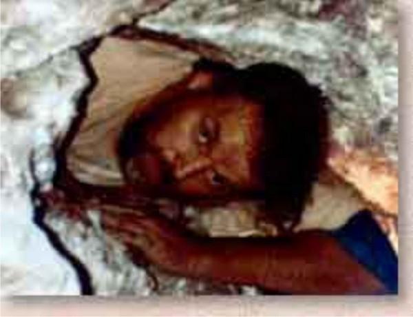 Рон Уайетт и его сыновья провели месяцы, роя проходы вдоль откосной стены, ища пещеру или туннель. Фото с сайта pureinsight.ru