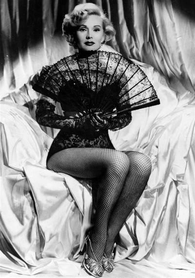 За За Габор  - звезда «Мулен руж», на грани жизни и смерти. За За Габор начала сниматься в фильмах в 1952 году. Фоторепортаж. Фото: AFP/Getty Images