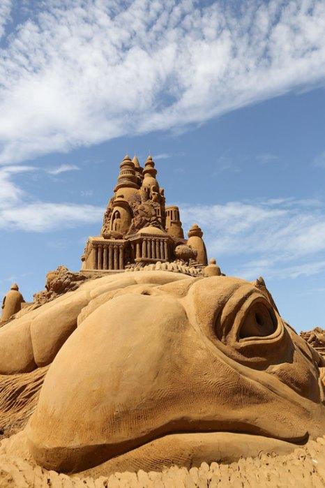 Выставка скульптур из песка открылась в Мельбурне. Фото: Graham Denholm/Getty Images