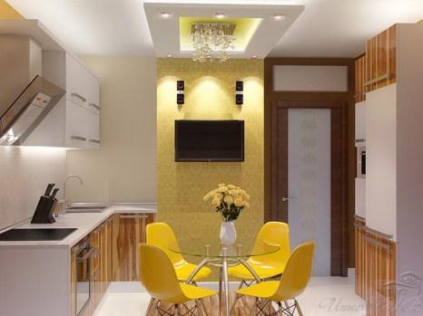 Дизайн интерьера – возможность привнести в дом яркие краски и креатив. Фото: interiv.ru