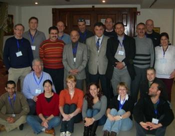 Международная исследовательская группа на коллективном снимке в Аммане. Фото с сайта  epochtimes.co.il