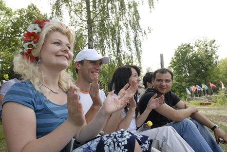 Фестиваль украинской и крымско-татарской традиционной культуры «Казацкий кавардак», 19 июня 2010 Фото: Владимир Бородин/Великая Эпоха/The Epoch Times