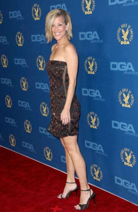 Лаура Урайт (Laura Wright) на вручении премии Гильдии режиссёров США 3 февраля 2013 года в Голливуде, США. Фото: Frederick M. Brown/Getty Images