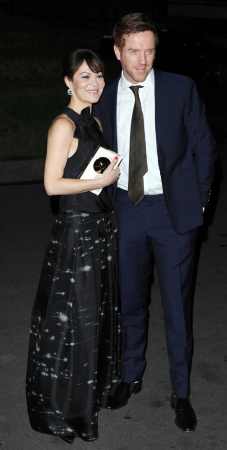 Хелен Маккрори и Дэмиан Льюис на церемонии вручения премии Evening Standard British Film Awards  в Лондоне 4 февраля 2013 года. Фото: Wilson/Getty Images