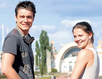 Максим Матвеев и Лиза Боярская. Фото: potok.in.ua