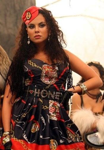 Настя Каменских признана самой красивой женщиной Украины за 2009 год. Фото: hiblogger.net