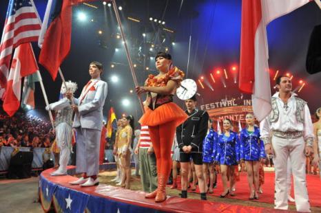 Фестиваль цирка в Монте-Карло. Фото: Gaitan Lucie/Pool/Getty Images