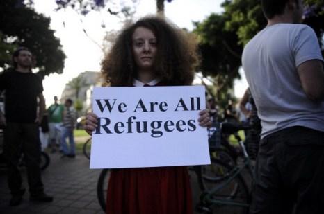 Израильтяне протестуют против расизма. Фото: DAVID BUIMOVITCH/AFP/GettyImages