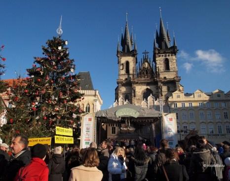 Рождество в Праге. Фото: nicoletta.ru