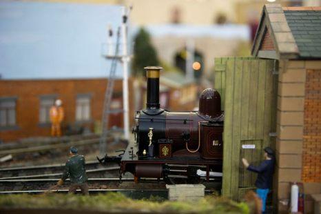 На фестивале моделирования железных дорог в Александра-палас, Лондон 23 марта 2013 г. Фото: Bethany Clarke/Getty Images