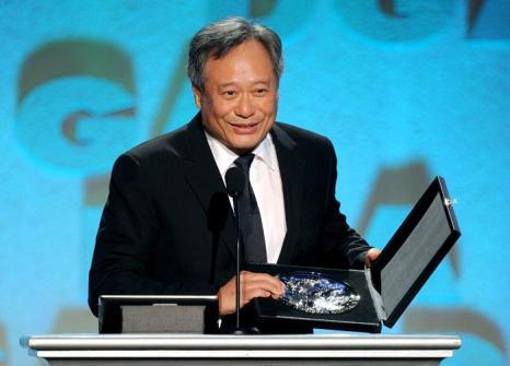 Энг Ли на церемонии вручения премии гильдии режиссёров США 3 февраля 2013 года в Лос-Анжелесе, США. Фото: Kevin Winter/Getty Images