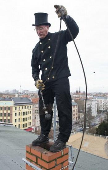 Трубочист. Фото с сайта theepochtimes.com