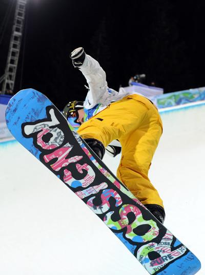 Зимняя Олимпиада в Ванкувере. Сноубордистка из Австралии Holly Crawford. Фото:Streeter Lecka/Getty Images Sport