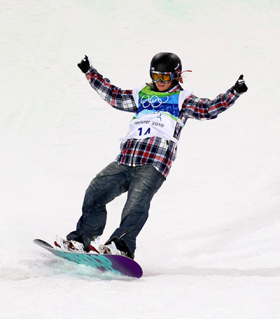 Олимпиада в Ванкувере. Сноубординг.Hannah Teter, США. Фото:Streeter Lecka/Getty Images Sport