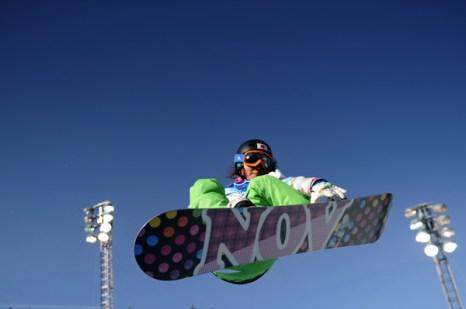 Олимпиада в Ванкувере. Сноубординг.Soko Yamaoka, Япония.  Фото:MARTIN BUREAU/Getty Images Sport