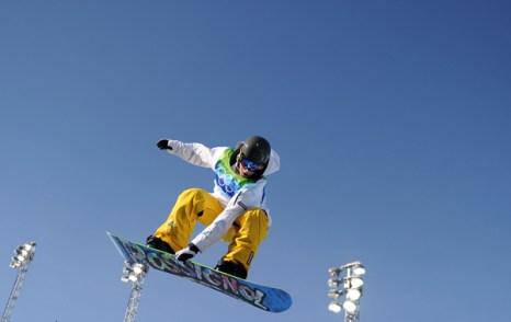 Олимпиада в Ванкувере. Сноубординг.Torah Bright, Австралия.  Фото:MARTIN BUREAU/Getty Images Sport