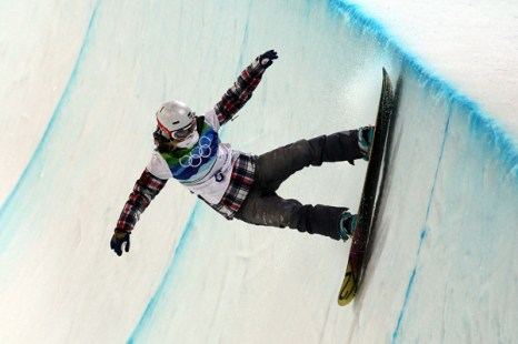 Олимпиада в Ванкувере. Сноубординг. Gretchen Bleiler, США. Фото:Streeter Lecka/Getty Images Sport