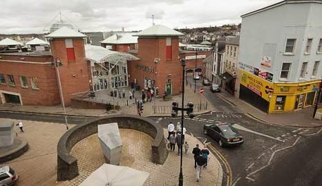 Дерри, Северная Ирландия. Торговый центр Foyleside. Фото: Peter Macdiarmid/Getty Images