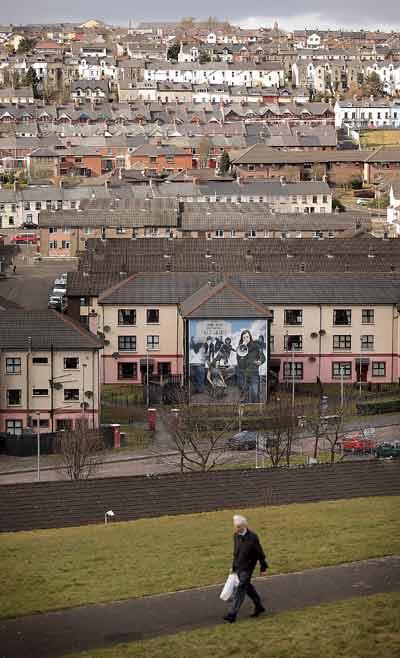 Дерри, Северная Ирландия.  Фото: Peter Macdiarmid/Getty Images
