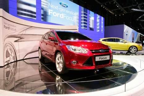 Новый Ford Focus Wagon с утилитарным типом кузова, но экономичным двигателем. Фото: SEBASTIAN DERUNGS/AFP/Getty Images