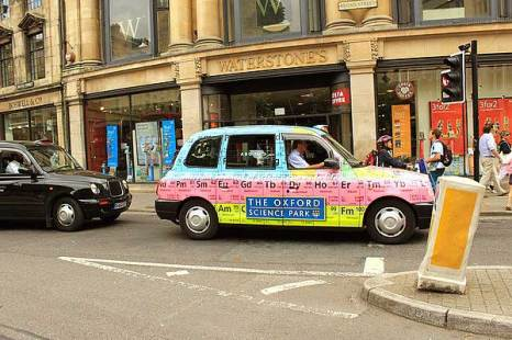 Оксфорд. Такси. Фото: Ирина Рудская/Великая Эпоха