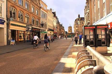 Оксфорд. Cornmarket  street. Фото: Ирина Рудская/Великая Эпоха