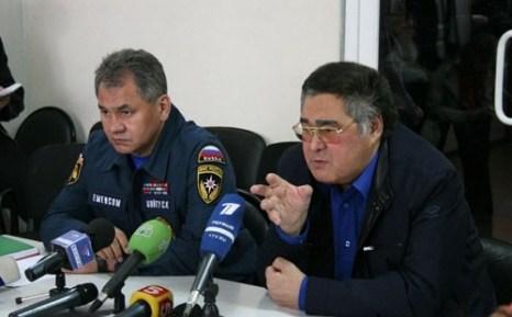 Совещание на шахте «Распадская» спасательные операции проводятся круглосуточно. Фото с сайта mchs.gov.ru