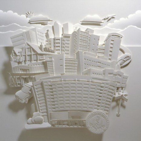 Бумажные скульптуры  Джефа Нишинаки. Фото с сайта: since1984.cn