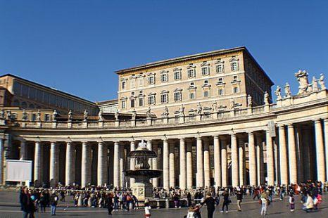 Достопримечательности Рима. Площадь святого Петра. Фото: Сима Петрова