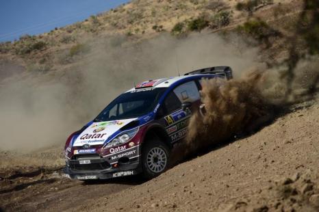 Мадс Остберг в ралли Мексики WRC-2013. Фото: Massimo Bettiol/Getty Images