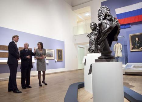 Принц Виллем-Александр открыл выставку Петру Первому в Амстердаме. Фото: Michel Porro/Getty Images