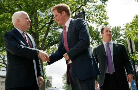 Принц Гарри прибыл с визитом в США. Фото: Win McNamee/Getty Images
