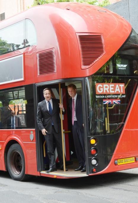 Принц Гарри и Дэвид Кэмерон провели рекламную компанию «Great». Фото: EMMANUEL DUNAND/AFP/Getty Images