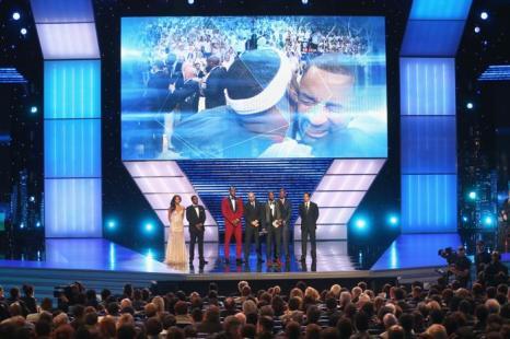 Церемония вручения спортивных наград ESPY Awards 2013 в Лос-Анджелесе 17 июля 2013 года. Фото: Frederick M. Brown/Getty Images for ESPY