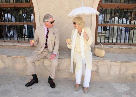Принц Чарльз и Камилла посетили Низву. Фото: Chris Jackson/Getty Images