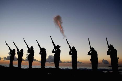День защитника отечества отмечают в Австралии. Фото: Chris Hyde / Getty Images